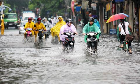 Mùa mưa ở Sài Gòn